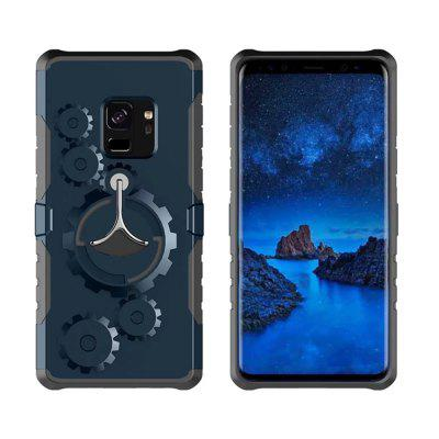 Cover Case for Samsung Galaxy S9 Plus Mechanical Gears Ring Scratch Slim Thin Protection Armband