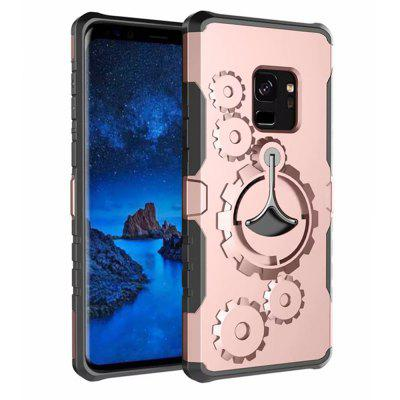 Cover Case for Samsung Galaxy S9 Mechanical Gears Ring Scratch Slim Thin Protection  ArmbandSamsung S Series<br>Cover Case for Samsung Galaxy S9 Mechanical Gears Ring Scratch Slim Thin Protection  Armband<br><br>Color: Rose Gold,Silver,Black,Gold,Gray,Cadetblue<br>Features: Back Cover, With Credit Card Holder, Anti-knock, Dirt-resistant, Armband<br>Material: PC, Carbon, TPU, Metal<br>Package Contents: 1 x Phone Case *1 x armband<br>Package size (L x W x H): 20.00 x 9.00 x 2.00 cm / 7.87 x 3.54 x 0.79 inches<br>Package weight: 0.0650 kg<br>Product weight: 0.0450 kg<br>Style: Solid Color