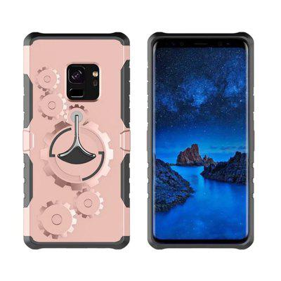 Cover Case for Samsung Galaxy S9 Mechanical Gears Ring Scratch Slim Thin Protection  Armband