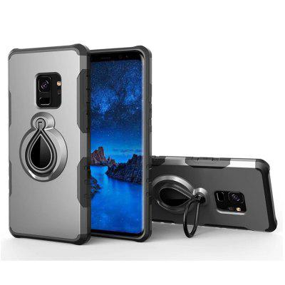 Cover Case for Samsung Galaxy S9 Plus Holder Car Mount Ring Grip 360 Rotatable Alloy Finger