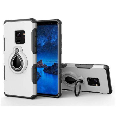 Cover Case for Samsung Galaxy S9 Holder Car Mount Ring Grip 360 Rotatable Alloy FingerCover Case for Samsung Galaxy S9 Holder Car Mount Ring Grip 360 Rotatable Alloy Finger<br><br>Color: Rose Gold,Silver,Red,Gold,Gray,Cadetblue<br>Features: Back Cover, With Credit Card Holder, Anti-knock, Dirt-resistant<br>For: Samsung Mobile Phone<br>Material: PC, TPU<br>Package Contents: 1 x Phone Case<br>Package size (L x W x H): 20.00 x 9.00 x 2.00 cm / 7.87 x 3.54 x 0.79 inches<br>Package weight: 0.0500 kg<br>Product weight: 0.0400 kg<br>Style: Solid Color