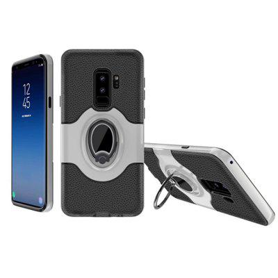 Cover Case for Samsung Galaxy S9 With Shock Absorption Dual Design Phone Ring Holder Anti-scratch Protective