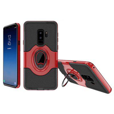 Cover Case a Samsung Galaxy S9 Plus-hoz ütéselnyelő Dual Design Phone Ring Holder karcálló védelemmel