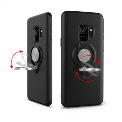 Cover Case for Samsung Galaxy S9 Shock Absorption Dual Design Phone Ring Holder Anti-Scratch ProtectiveSamsung S Series<br>Cover Case for Samsung Galaxy S9 Shock Absorption Dual Design Phone Ring Holder Anti-Scratch Protective<br><br>Features: Back Cover, Cases with Stand<br>For: Samsung Mobile Phone<br>Material: TPU, PC<br>Package Contents: 1 x Phone Case<br>Package size (L x W x H): 20.00 x 9.00 x 2.00 cm / 7.87 x 3.54 x 0.79 inches<br>Package weight: 0.0500 kg<br>Product weight: 0.0400 kg<br>Style: Solid Color