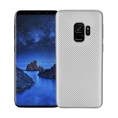 Cover Case for Samsung Galaxy S9 Soft Carbon Fiber Luxury TPU