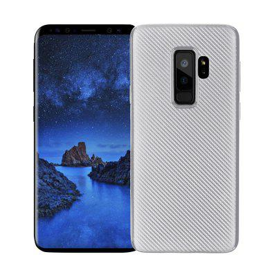 Cover Case for Samsung Galaxy S9 Plus Soft Carbon Fiber Luxury TPU