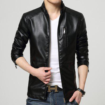 Mens Leather and Velvet CoatMens Jackets &amp; Coats<br>Mens Leather and Velvet Coat<br><br>Closure Type: Zipper<br>Clothes Type: Leather &amp; Suede<br>Materials: Cotton, Polyester<br>Package Content: 1xCoat<br>Package size (L x W x H): 1.00 x 1.00 x 1.00 cm / 0.39 x 0.39 x 0.39 inches<br>Package weight: 1.3000 kg<br>Size1: M,L,XL,2XL,3XL