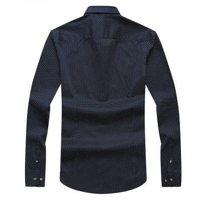Autumn and Winter Mens Spotted Shirt Fashion and Leisure Bottoming BlousesMens T-shirts<br>Autumn and Winter Mens Spotted Shirt Fashion and Leisure Bottoming Blouses<br><br>Collar: Turn-down Collar<br>Material: Cotton<br>Package Contents: 1xShirt<br>Shirts Type: Casual Shirts<br>Sleeve Length: Full<br>Weight: 0.3500kg