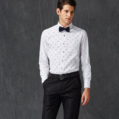 Autumn and Winter Mens Leisure Fashion Professional Dress ShirtMens T-shirts<br>Autumn and Winter Mens Leisure Fashion Professional Dress Shirt<br><br>Collar: Turn-down Collar<br>Material: Cotton, Polyester<br>Package Contents: 1xShirt<br>Shirts Type: Formal Shirts<br>Sleeve Length: Full<br>Weight: 0.4000kg