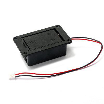 High Quality Black 9V Battery Box Case Cover Holders for Guitar Bass Pickup Replacement Accessory