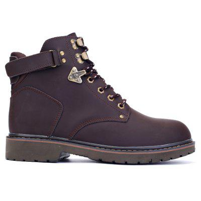 New Genuine Leather High-Cylinder Tooling Boots