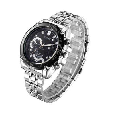 High-grade Steel Waterproof Business Casual Mens WatchMens Watches<br>High-grade Steel Waterproof Business Casual Mens Watch<br><br>Band material: Stainless Steel<br>Case material: Resin<br>Clasp type: Pin buckle<br>Movement type: Quartz watch<br>Package Contents: 1 x Watch<br>Package size (L x W x H): 26.00 x 4.50 x 1.50 cm / 10.24 x 1.77 x 0.59 inches<br>Package weight: 0.1200 kg<br>Product size (L x W x H): 25.50 x 4.40 x 1.30 cm / 10.04 x 1.73 x 0.51 inches<br>Product weight: 0.1000 kg<br>Shape of the dial: Round<br>Watch style: Fashion<br>Watches categories: Men