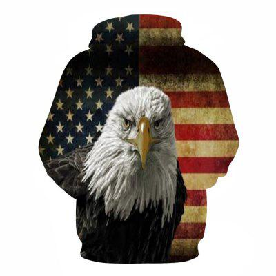 3D Flag Eagle Print HoodieMens Hoodies &amp; Sweatshirts<br>3D Flag Eagle Print Hoodie<br><br>Material: Cotton<br>Package Contents: 1 x Hoodie<br>Shirt Length: Regular<br>Sleeve Length: Full<br>Style: Fashion<br>Weight: 0.4800kg
