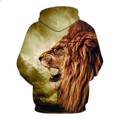 3D Lion Pocket Print HoodieMens Hoodies &amp; Sweatshirts<br>3D Lion Pocket Print Hoodie<br><br>Fabric Type: Broadcloth<br>Material: Cotton<br>Package Contents: 1 x Hoodie<br>Shirt Length: Regular<br>Sleeve Length: Full<br>Style: Fashion<br>Weight: 0.4800kg
