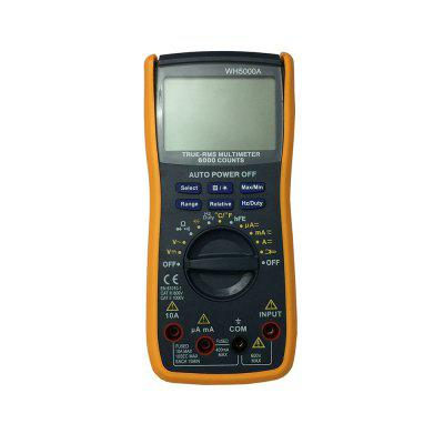 WH5000A LCD Handheld Digital Multimeter Using for Home and Car