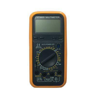 VC9805 LCD Handheld Digital Multimeter Using for Home and Car