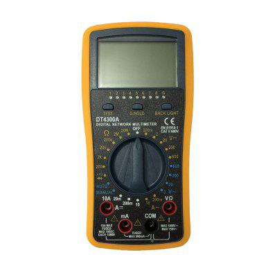 DT-4300A LCD Handheld Digital Multimeter Using for Home and Car