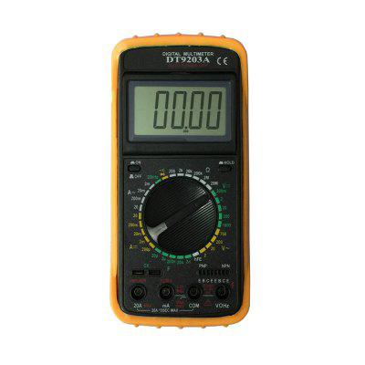 DT9203A LCD Handheld Digital Multimeter Using for Home and Car
