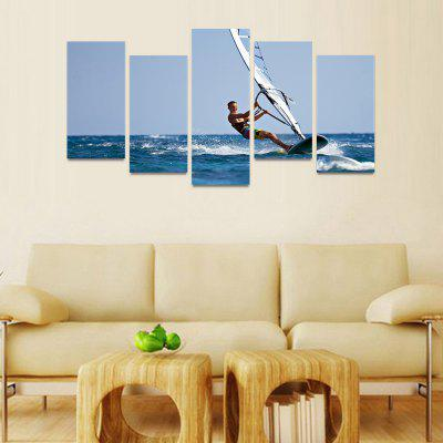 MailingArt FIV082 5 Panels Seascape Wall Art Painting Home Decor Canvas PrintPrints<br>MailingArt FIV082 5 Panels Seascape Wall Art Painting Home Decor Canvas Print<br><br>Craft: Print<br>Form: Five Panels<br>Material: Canvas<br>Package Contents: 5 x Print<br>Package size (L x W x H): 82.00 x 32.00 x 12.00 cm / 32.28 x 12.6 x 4.72 inches<br>Package weight: 1.8000 kg<br>Painting: Include Inner Frame<br>Shape: Horizontal Panoramic<br>Style: Natural<br>Subjects: Seascape<br>Suitable Space: Bedroom,Boys Room,Cafes,Corridor,Dining Room,Girls Room,Hotel,Kids Room,Kitchen,Living Room,Office,Study Room / Office