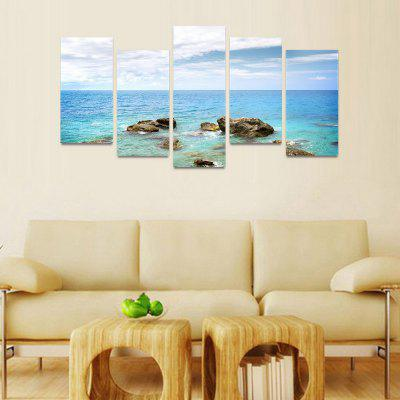 MailingArt FIV48 5 Panels Seascape Wall Art Painting Home Decor Canvas PrintPrints<br>MailingArt FIV48 5 Panels Seascape Wall Art Painting Home Decor Canvas Print<br><br>Craft: Print<br>Form: Five Panels<br>Material: Canvas<br>Package Contents: 5 x Print<br>Package size (L x W x H): 82.00 x 32.00 x 12.00 cm / 32.28 x 12.6 x 4.72 inches<br>Package weight: 1.8000 kg<br>Painting: Include Inner Frame<br>Shape: Horizontal Panoramic<br>Style: Natural<br>Subjects: Seascape<br>Suitable Space: Boys Room,Cafes,Corridor,Dining Room,Girls Room,Hotel,Kids Room,Kitchen,Living Room,Office,Study Room / Office