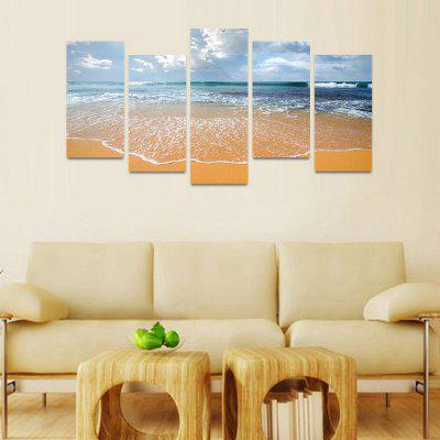 MailingArt FIV49 5 Panels Seascape Wall Art Painting Home Decor Canvas PrintPrints<br>MailingArt FIV49 5 Panels Seascape Wall Art Painting Home Decor Canvas Print<br><br>Craft: Print<br>Form: Five Panels<br>Material: Canvas<br>Package Contents: 5 x Print<br>Package size (L x W x H): 82.00 x 32.00 x 12.00 cm / 32.28 x 12.6 x 4.72 inches<br>Package weight: 1.8000 kg<br>Painting: Include Inner Frame<br>Shape: Horizontal Panoramic<br>Style: Natural<br>Subjects: Seascape<br>Suitable Space: Boys Room,Cafes,Corridor,Dining Room,Girls Room,Hotel,Kids Room,Kitchen,Living Room,Office,Study Room / Office