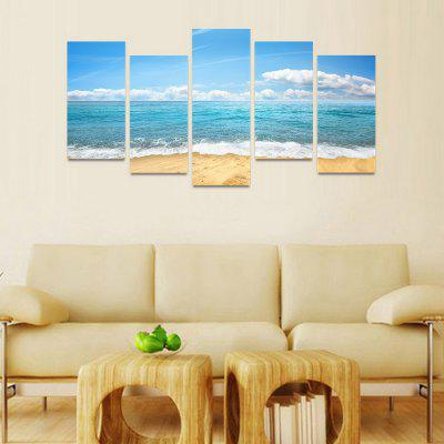 MailingArt FIV51 5 Panels Seascape Wall Art Painting Home Decor Canvas PrintPrints<br>MailingArt FIV51 5 Panels Seascape Wall Art Painting Home Decor Canvas Print<br><br>Craft: Print<br>Form: Five Panels<br>Material: Canvas<br>Package Contents: 5 x Print<br>Package size (L x W x H): 82.00 x 32.00 x 12.00 cm / 32.28 x 12.6 x 4.72 inches<br>Package weight: 1.8000 kg<br>Painting: Include Inner Frame<br>Shape: Horizontal Panoramic<br>Style: Natural, Modern / Contemporary<br>Subjects: Seascape<br>Suitable Space: Boys Room,Cafes,Corridor,Dining Room,Girls Room,Hotel,Kids Room,Kitchen,Living Room,Office,Study Room / Office