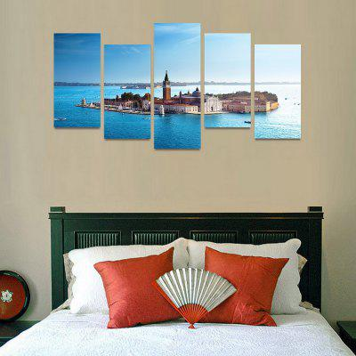 MailingArt FIV53 5 Panels Seascape Wall Art Painting Home Decor Canvas PrintPrints<br>MailingArt FIV53 5 Panels Seascape Wall Art Painting Home Decor Canvas Print<br><br>Craft: Print<br>Form: Five Panels<br>Material: Canvas<br>Package Contents: 5 x Print<br>Package size (L x W x H): 82.00 x 32.00 x 12.00 cm / 32.28 x 12.6 x 4.72 inches<br>Package weight: 1.8000 kg<br>Painting: Include Inner Frame<br>Shape: Horizontal Panoramic<br>Style: Natural<br>Subjects: Seascape<br>Suitable Space: Boys Room,Cafes,Corridor,Dining Room,Girls Room,Hotel,Kids Room,Kitchen,Living Room,Office,Study Room / Office