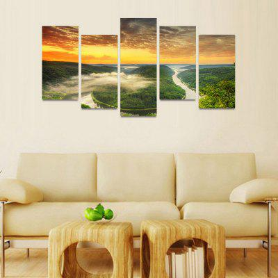 MailingArt FIV092 5 Panels Seascape Wall Art Painting Home Decor Canvas PrintPrints<br>MailingArt FIV092 5 Panels Seascape Wall Art Painting Home Decor Canvas Print<br><br>Craft: Print<br>Form: Five Panels<br>Material: Canvas<br>Package Contents: 5 x Print<br>Package size (L x W x H): 82.00 x 32.00 x 12.00 cm / 32.28 x 12.6 x 4.72 inches<br>Package weight: 1.8000 kg<br>Painting: Include Inner Frame<br>Shape: Horizontal Panoramic<br>Style: Natural<br>Subjects: Seascape<br>Suitable Space: Boys Room,Cafes,Corridor,Dining Room,Girls Room,Hotel,Kids Room,Kitchen,Living Room,Office,Study Room / Office