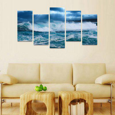 MailingArt FIV099 5 Panels Seascape Wall Art Painting Home Decor Canvas PrintPrints<br>MailingArt FIV099 5 Panels Seascape Wall Art Painting Home Decor Canvas Print<br><br>Craft: Print<br>Form: Five Panels<br>Material: Canvas<br>Package Contents: 5 x Print<br>Package size (L x W x H): 82.00 x 32.00 x 12.00 cm / 32.28 x 12.6 x 4.72 inches<br>Package weight: 1.8000 kg<br>Painting: Include Inner Frame<br>Shape: Horizontal Panoramic<br>Style: Natural<br>Subjects: Seascape<br>Suitable Space: Boys Room,Cafes,Corridor,Dining Room,Girls Room,Hotel,Kids Room,Kitchen,Living Room,Office,Study Room / Office