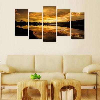 MailingArt FIV0101 5 Panels Seascape Wall Art Painting Home Decor Canvas PrintPrints<br>MailingArt FIV0101 5 Panels Seascape Wall Art Painting Home Decor Canvas Print<br><br>Craft: Print<br>Form: Five Panels<br>Material: Canvas<br>Package Contents: 5 x Print<br>Package size (L x W x H): 82.00 x 32.00 x 12.00 cm / 32.28 x 12.6 x 4.72 inches<br>Package weight: 1.8000 kg<br>Painting: Include Inner Frame<br>Shape: Horizontal Panoramic<br>Style: Natural<br>Subjects: Seascape<br>Suitable Space: Bedroom,Cafes,Corridor,Dining Room,Entry,Girls Room,Hotel,Kids Room,Living Room,Office,Pathway,Study Room / Office