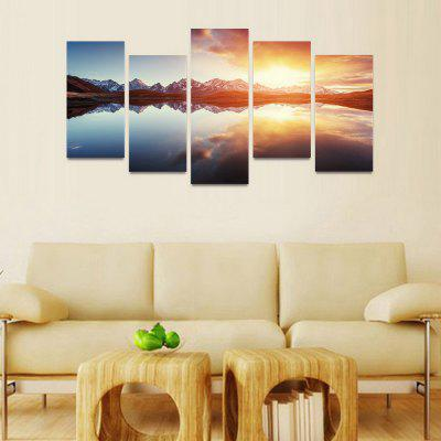 MailingArt FIV109 5 Panels Seascape Wall Art Painting Home Decor Canvas PrintPrints<br>MailingArt FIV109 5 Panels Seascape Wall Art Painting Home Decor Canvas Print<br><br>Craft: Print<br>Form: Five Panels<br>Material: Canvas<br>Package Contents: 5 x Print<br>Package size (L x W x H): 82.00 x 32.00 x 12.00 cm / 32.28 x 12.6 x 4.72 inches<br>Package weight: 1.8000 kg<br>Painting: Include Inner Frame<br>Shape: Horizontal Panoramic<br>Style: Natural<br>Subjects: Landscape<br>Suitable Space: Boys Room,Cafes,Corridor,Dining Room,Girls Room,Hotel,Kids Room,Kitchen,Living Room,Office,Study Room / Office
