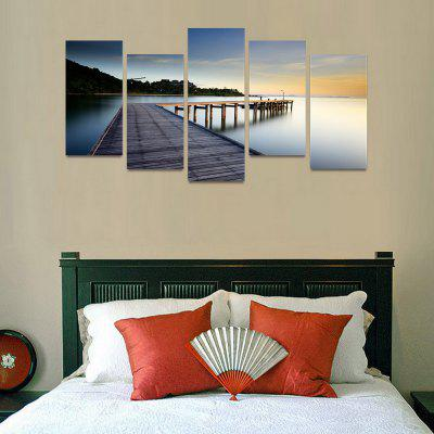 MailingArt FIV66 5 Panels Seascape Wall Art Painting Home Decor Canvas PrintPrints<br>MailingArt FIV66 5 Panels Seascape Wall Art Painting Home Decor Canvas Print<br><br>Craft: Print<br>Form: Five Panels<br>Material: Canvas<br>Package Contents: 5 x Print<br>Package size (L x W x H): 82.00 x 32.00 x 12.00 cm / 32.28 x 12.6 x 4.72 inches<br>Package weight: 1.8000 kg<br>Painting: Include Inner Frame<br>Shape: Horizontal Panoramic<br>Style: Natural<br>Subjects: Seascape<br>Suitable Space: Boys Room,Cafes,Corridor,Dining Room,Girls Room,Hotel,Kids Room,Kitchen,Living Room,Office,Study Room / Office
