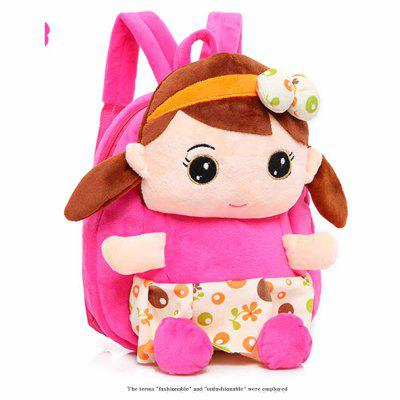 Kid's Plush Backpack Cartoon Doll Decoration Cute School Bag 25cm soft toy poodle pillow cartoon cute poodle dog plush toy fabric stitch stuffed plush dog animal toys for children gifts