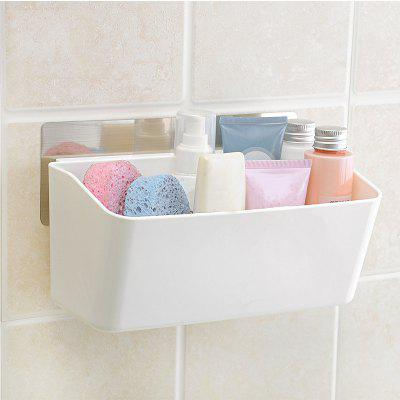 Seamless Wall Mounted Bathroom Shelves Toiletries Storage Box