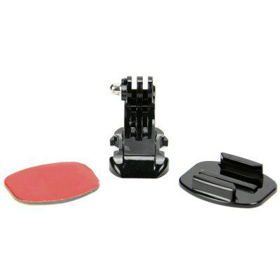 Action Camera Accessories J Hook Adhesive Sticker Flat Surface Mount Adapter Kit for GoPro Hero 6/5S/5/4/3+/3/2/1Action Cameras &amp; Sport DV Accessories<br>Action Camera Accessories J Hook Adhesive Sticker Flat Surface Mount Adapter Kit for GoPro Hero 6/5S/5/4/3+/3/2/1<br><br>Accessory type: Mounting Base Holder, Adhesive Tap<br>Apply to Brand: Xiaomi,Sony,Gopro,SJCAM,Eken<br>Compatible with: EKEN H9, SJ4000 Plus, SJ4000 WiFi, SJCAM M20, EKEN H8R, EKEN H8, EKEN H3R, EKEN H9R, Xiaomi Yi II, SJ5000 WiFi, SJ5000X, All models, SJCAM M10 Plus, SJCAM M10, SJCAM 4000 plus, Gopro Hero 4, Gopro Hero 3 Plus, Gopro Hero 3, Gopro Hero 2, Gopro Hero 1, GoPro Hero Series, SJ4000, SJ5000, SJCAM 5000 plus, SJ7000, GoPro Hero 4 Session, Xiaomi Yi, Action Camera, SJ6000<br>Extened Length(cm): 15<br>Folded Length(cm): 10<br>Length Range(cm): 10-15<br>Material: ABS<br>Package Contents: 1 x J HOOK Buckle Holder?1 x Flat Surface Mount ?1 x Adhesive<br>Package size (L x W x H): 16.00 x 11.00 x 11.00 cm / 6.3 x 4.33 x 4.33 inches<br>Package weight: 0.0500 kg<br>Product size (L x W x H): 15.00 x 10.00 x 10.00 cm / 5.91 x 3.94 x 3.94 inches<br>Product weight: 0.0300 kg<br>Waterproof: Yes