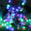 1PC 10M 60LEDS Led String Lights 8MODES Snow Ball Light Christmas New Year Wedding Party Bedroom 220V - COLORFUL