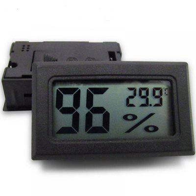 Mini Digital LCD Thermometer Hygrometer For Indoor Raising Reptiles