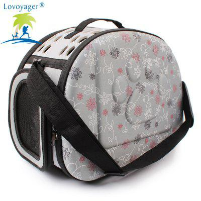 Lovoyager LVC0123 Fashion Folding Portable Pet Goes Out BackpackDog Clothing &amp; Shoes<br>Lovoyager LVC0123 Fashion Folding Portable Pet Goes Out Backpack<br><br>Brand: Lovoyager<br>For: Cats, Dogs<br>Package Contents: 1 x Dog Backpack<br>Package size (L x W x H): 46.00 x 10.00 x 35.00 cm / 18.11 x 3.94 x 13.78 inches<br>Package weight: 0.5500 kg<br>Season: All seasons<br>Size: S,L