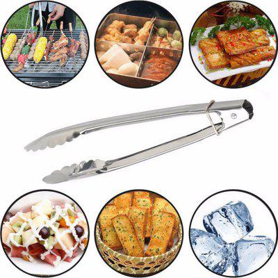 BBQ Clip Barbecue Clamp Stainless Steel Food Tong