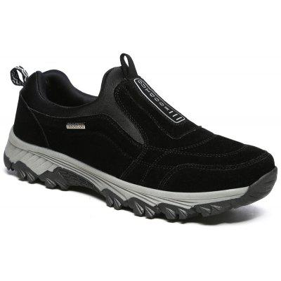 Buy BLACK 40 New Spring Breathable Wear-resisting Hiking Shoes For Men for $55.74 in GearBest store