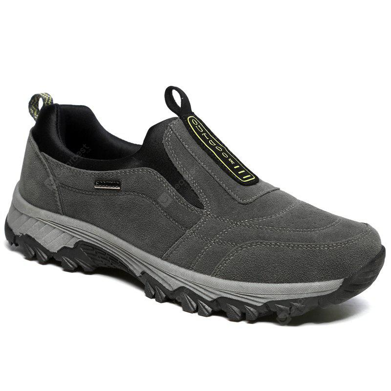 GRAY 42 New Spring Breathable Wear-resisting Hiking Shoes For Men