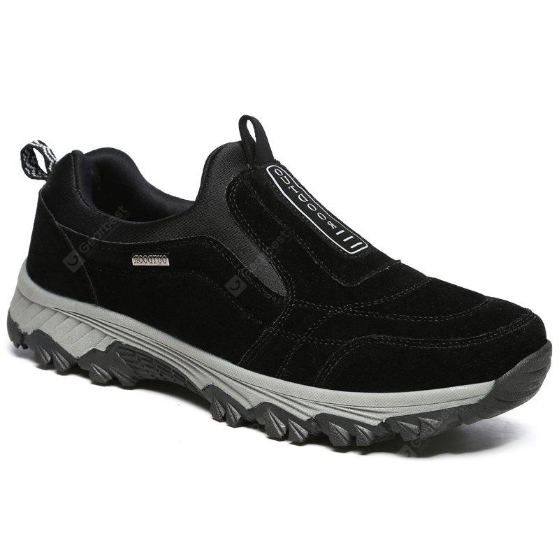 BLACK 43 New Spring Breathable Wear-resisting Hiking Shoes For Men