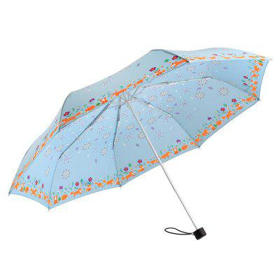 Lightweight Windproof Quick Dry Travel Umbrella para mulheres
