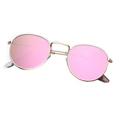Round Frame Glasses Colorful Reflective SunglassesRound Frame Glasses Colorful Reflective Sunglasses<br><br>Frame Color: Gold<br>Frame material: Other<br>Gender: For Women<br>Group: Adult<br>Lens material: Acrylic<br>Lens width: 4.8 cm<br>Nose: 2.4 cm<br>Package Contents: 1 x Sunglasses<br>Package size (L x W x H): 15.00 x 16.00 x 5.00 cm / 5.91 x 6.3 x 1.97 inches<br>Package weight: 0.0320 kg<br>Product weight: 0.0220 kg<br>Style: Round<br>Temple Length: 13.5 cm