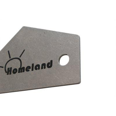 Homeland Guitar Bass Fret Leveling Ruler / Rocker / Level Luthier ToolGuitar Parts<br>Homeland Guitar Bass Fret Leveling Ruler / Rocker / Level Luthier Tool<br><br>Brand: Homeland<br>Materials: Stainless Steel<br>Package Contents: 1 x Ruler<br>Package size: 12.00 x 6.00 x 0.40 cm / 4.72 x 2.36 x 0.16 inches<br>Package weight: 0.0520 kg<br>Suitable for: Guitar<br>Type: Repair tool