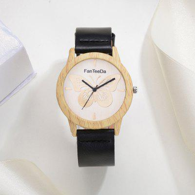 Fanteeda FD064 Unisex Fashion Wooden Case PU Band Quartz WatchUnisex Watches<br>Fanteeda FD064 Unisex Fashion Wooden Case PU Band Quartz Watch<br><br>Band material: PU<br>Band size: 24.5 x 2 CM<br>Case material: Wood<br>Clasp type: Pin buckle<br>Dial size: 4.1 x 4.1 x 0.8 CM<br>Display type: Analog<br>Movement type: Quartz watch<br>Package Contents: 1 x Watch<br>Package size (L x W x H): 26.00 x 5.00 x 1.00 cm / 10.24 x 1.97 x 0.39 inches<br>Package weight: 0.0330 kg<br>People: Unisex table<br>Product size (L x W x H): 24.50 x 4.10 x 0.80 cm / 9.65 x 1.61 x 0.31 inches<br>Product weight: 0.0320 kg<br>Shape of the dial: Round<br>Watch style: Fashion, Business, Retro, Lovely, Casual