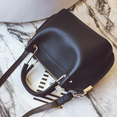 Shoulder Messenger Atmospheric Fashion HandbagHandbags<br>Shoulder Messenger Atmospheric Fashion Handbag<br><br>Closure Type: Zipper<br>Embellishment: None<br>Exterior: None<br>Gender: For Women<br>Handbag Type: Totes<br>Lining Material: Others<br>Main Material: PU<br>Number of Handles / Straps: None<br>Package Contents: 1 x Bag<br>Package size (L x W x H): 25.00 x 14.00 x 22.00 cm / 9.84 x 5.51 x 8.66 inches<br>Package weight: 0.5400 kg<br>Pattern Type: Solid<br>Product size (L x W x H): 22.50 x 11.50 x 19.50 cm / 8.86 x 4.53 x 7.68 inches<br>Product weight: 0.5200 kg<br>Shape: Hobos<br>Style: Fashion