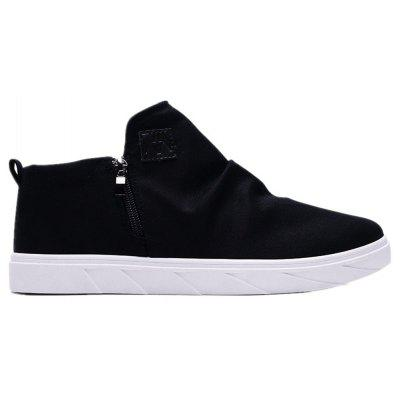Buy BLACK 44 All-Match High Plush Shoes for $40.90 in GearBest store