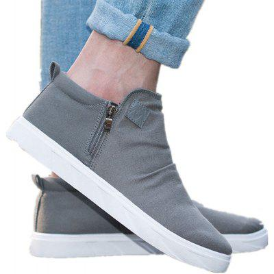 Buy GRAY 40 All-Match High Plush Shoes for $40.90 in GearBest store