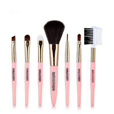 Lameila multifunktionale Kosmetik Make-up Pinsel Set 7ST